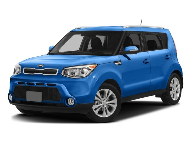 Caribbean Blue 2016 Kia Soul Pictures Soul Wagon 4D + I4 photos front view