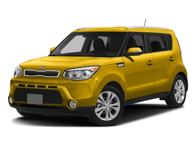 Solar Yellow 2016 Kia Soul Pictures Soul Wagon 4D + I4 photos front view