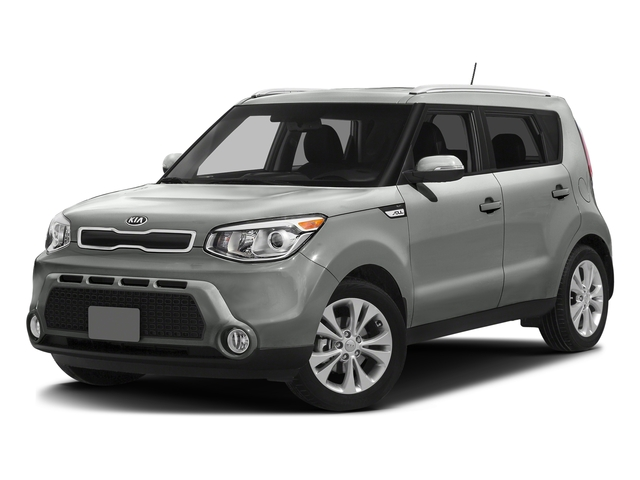 Titanium Gray 2016 Kia Soul Pictures Soul Wagon 4D + I4 photos front view