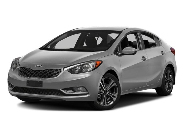 Silky Silver 2016 Kia Forte Pictures Forte Sedan 4D LX I4 photos front view