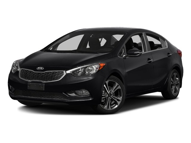 Aurora Black Pearl 2016 Kia Forte Pictures Forte Sedan 4D LX I4 photos front view