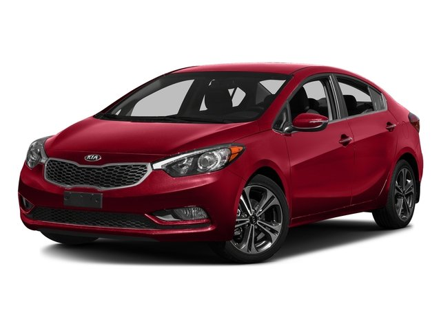 Crimson Red Metallic 2016 Kia Forte Pictures Forte Sedan 4D LX I4 photos front view