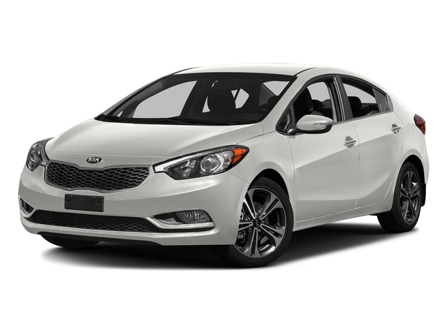 Clear White 2016 Kia Forte Pictures Forte Sedan 4D LX I4 photos front view