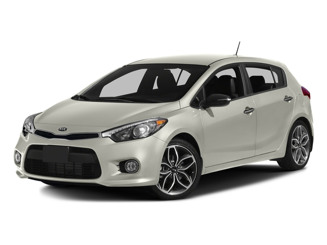 Snow White Pearl 2016 Kia Forte 5-Door Pictures Forte 5-Door Hatchback 5D SX Technology I4 Turbo photos front view