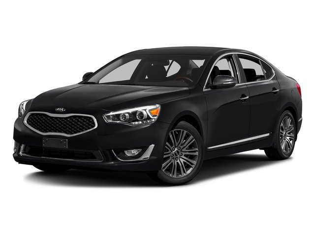 Aurora Black Pearl 2016 Kia Cadenza Pictures Cadenza Sedan 4D V6 photos front view