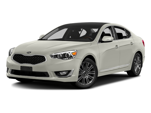 Snow White Pearl 2016 Kia Cadenza Pictures Cadenza Sedan 4D V6 photos front view