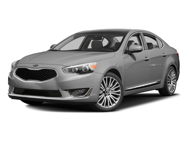 Silky Silver Metallic 2016 Kia Cadenza Pictures Cadenza Sedan 4D Premium V6 photos front view