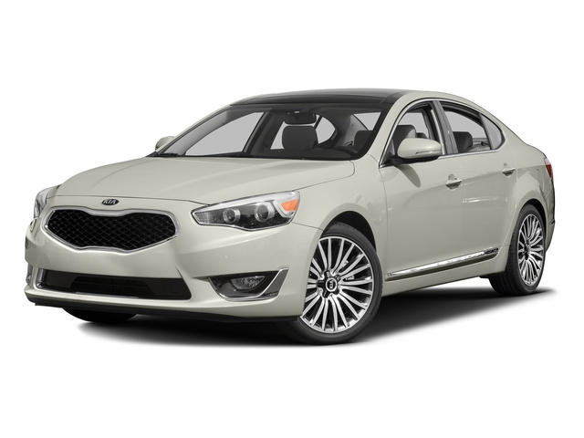 Snow White Pearl 2016 Kia Cadenza Pictures Cadenza Sedan 4D Premium V6 photos front view