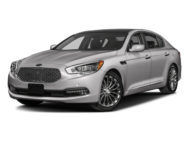 Bright Silver 2016 Kia K900 Pictures K900 Sedan 4D Luxury V8 photos front view