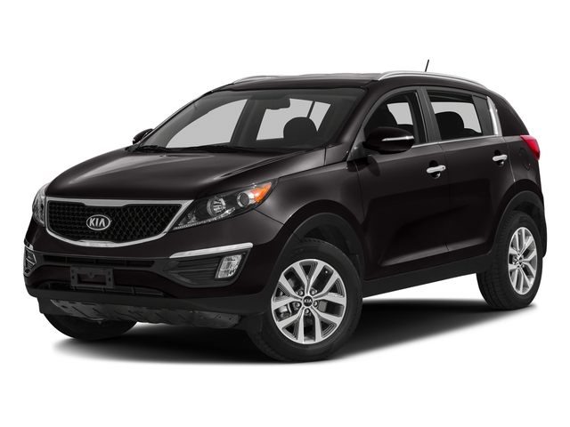 Black Cherry 2016 Kia Sportage Pictures Sportage Utility 4D EX 2WD I4 photos front view