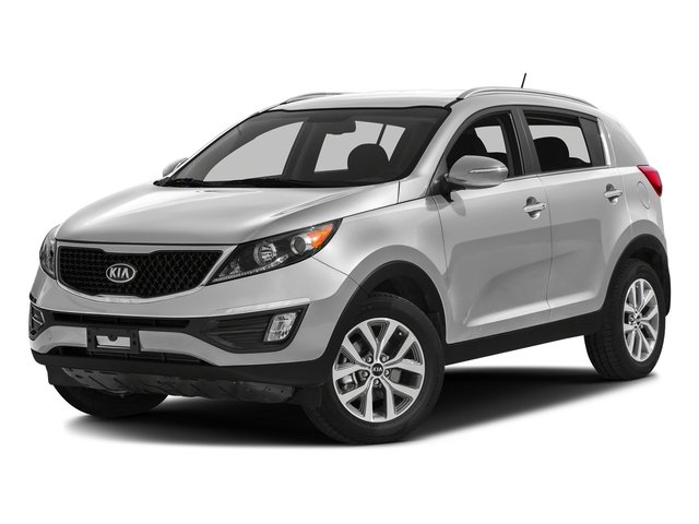 Bright Silver 2016 Kia Sportage Pictures Sportage Utility 4D LX Popular AWD I4 photos front view