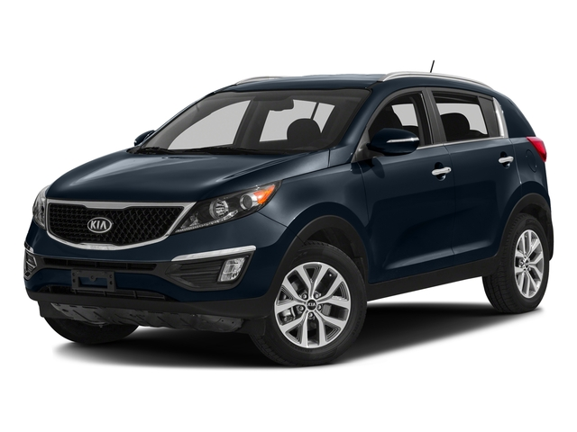 Twilight Blue 2016 Kia Sportage Pictures Sportage Utility 4D EX 2WD I4 photos front view
