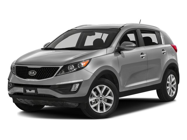Mineral Silver 2016 Kia Sportage Pictures Sportage Utility 4D LX Popular 2WD I4 photos front view