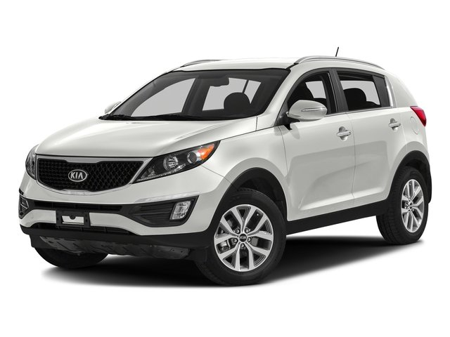 Clear White 2016 Kia Sportage Pictures Sportage Utility 4D LX Popular AWD I4 photos front view