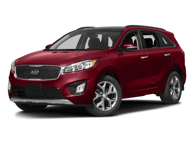 Remington Red 2016 Kia Sorento Pictures Sorento Utility 4D SX 2WD V6 photos front view
