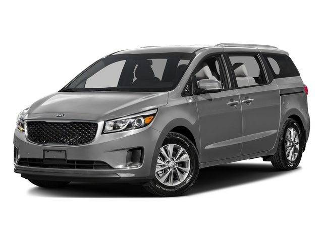Bright Silver Metallic 2016 Kia Sedona Pictures Sedona Wagon EX V6 photos front view