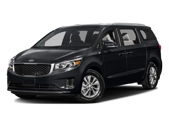 Aurora Black Pearl 2016 Kia Sedona Pictures Sedona Wagon EX V6 photos front view