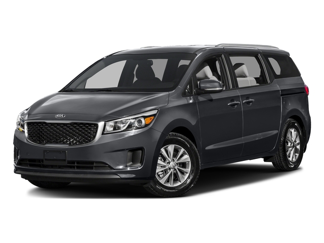 Platinum Graphite Pearl Metallic 2016 Kia Sedona Pictures Sedona Wagon EX V6 photos front view