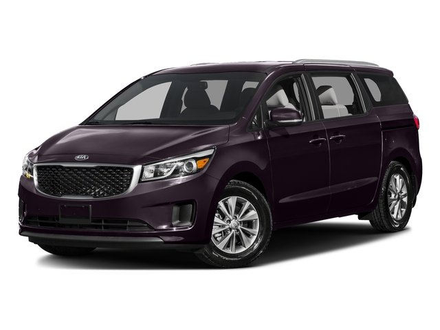 Venetian Red Pearl Metallic 2016 Kia Sedona Pictures Sedona Wagon EX V6 photos front view
