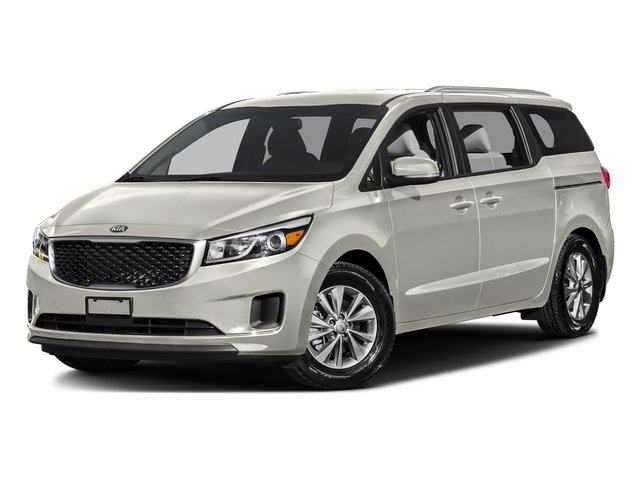 Snow White Pearl 2016 Kia Sedona Pictures Sedona Wagon EX V6 photos front view