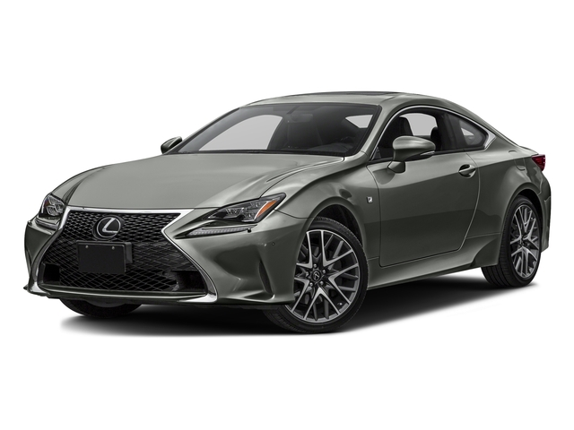 Atomic Silver 2016 Lexus RC 350 Pictures RC 350 Coupe 2D RC350 AWD V6 photos front view