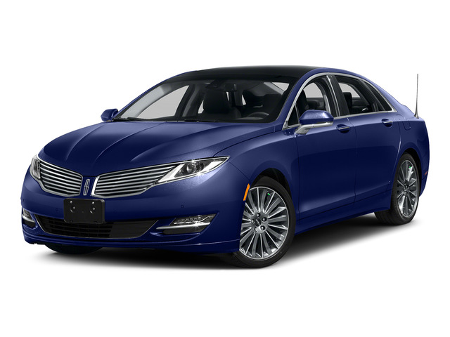 Notorious 2016 Lincoln MKZ Pictures MKZ Sedan 4D Black Label I4 Hybrid photos front view