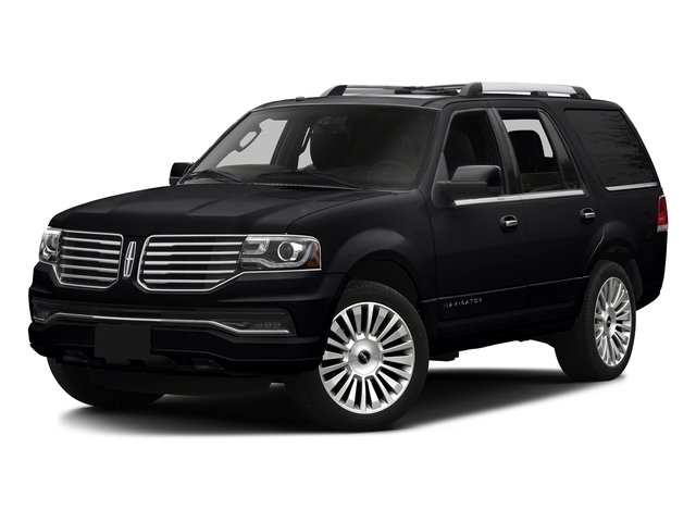 Black Velvet 2016 Lincoln Navigator Pictures Navigator Utility 4D Reserve 2WD V6 Turbo photos front view