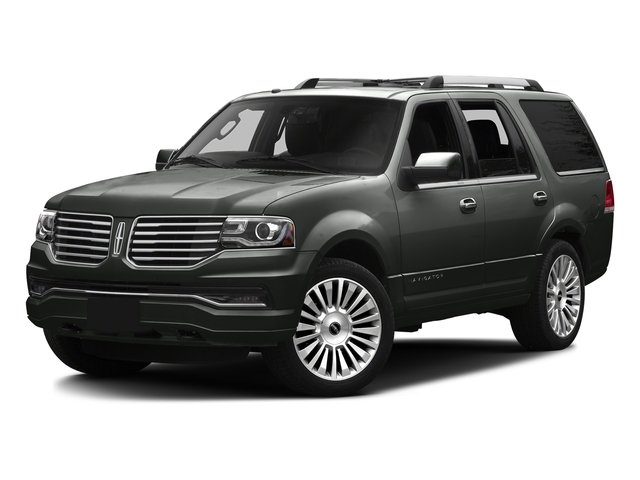 Magnetic Metallic 2016 Lincoln Navigator Pictures Navigator Utility 4D Reserve 2WD V6 Turbo photos front view