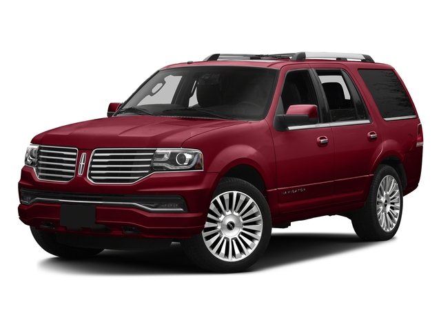 Ruby Red Metallic Tinted Clearcoat 2016 Lincoln Navigator Pictures Navigator Utility 4D Reserve 4WD V6 Turbo photos front view
