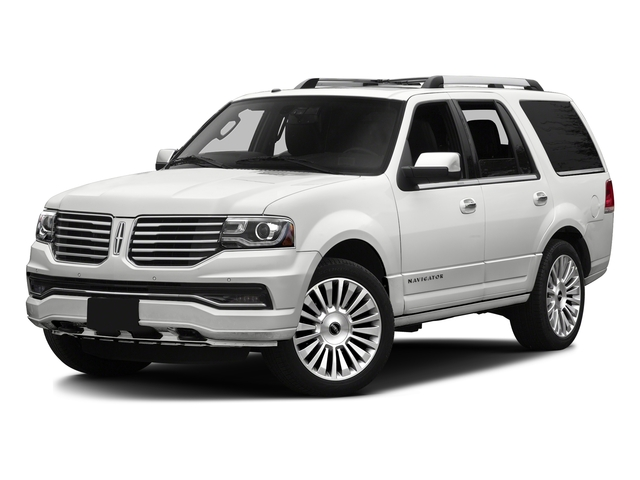 White Platinum Metallic Tri-Coat 2016 Lincoln Navigator Pictures Navigator Utility 4D Reserve 2WD V6 Turbo photos front view