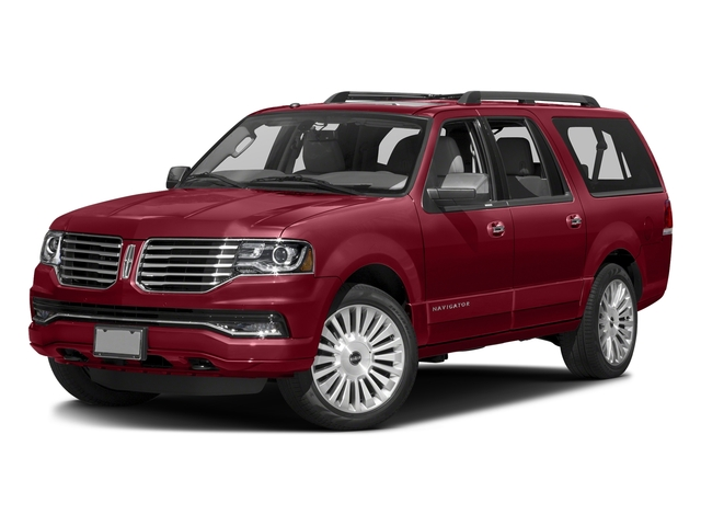Ruby Red Metallic Tinted Clearcoat 2016 Lincoln Navigator L Pictures Navigator L Utility 4D Select 2WD V6 Turbo photos front view
