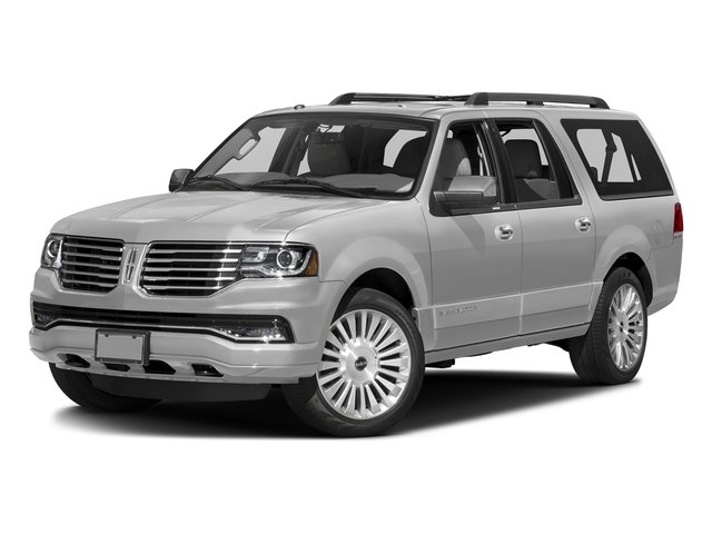 Ingot Silver Metallic 2016 Lincoln Navigator L Pictures Navigator L Utility 4D Select 2WD V6 Turbo photos front view