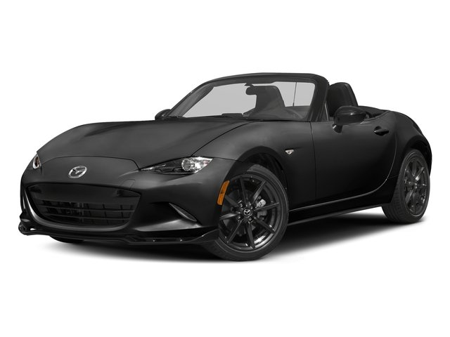Jet Black Mica 2016 Mazda MX-5 Miata Pictures MX-5 Miata Convertible 2D Club I4 photos front view