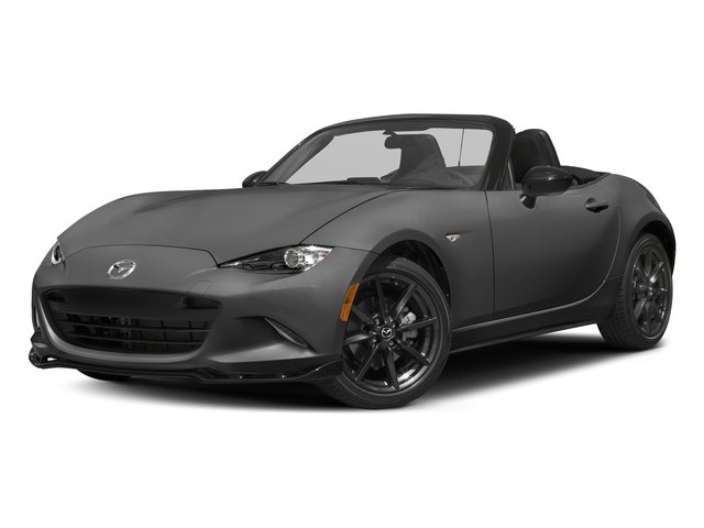 Meteor Gray Mica 2016 Mazda MX-5 Miata Pictures MX-5 Miata Convertible 2D Club I4 photos front view