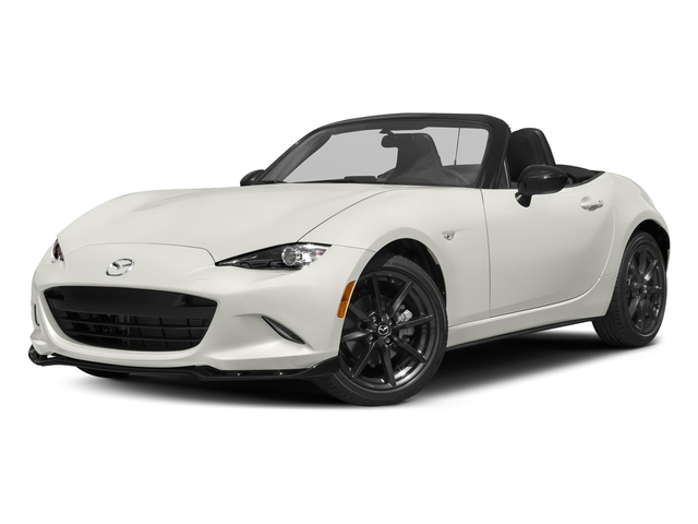 Arctic White 2016 Mazda MX-5 Miata Pictures MX-5 Miata Convertible 2D Club I4 photos front view