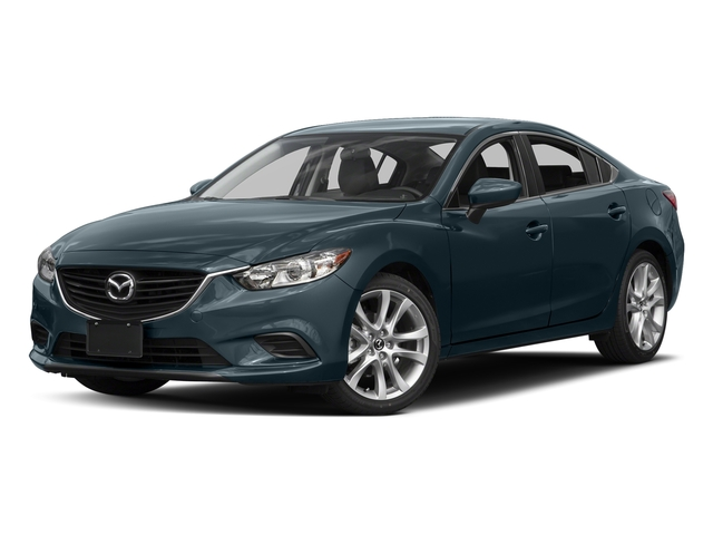 Blue Reflex Mica 2016 Mazda Mazda6 Pictures Mazda6 Sedan 4D i Touring I4 photos front view