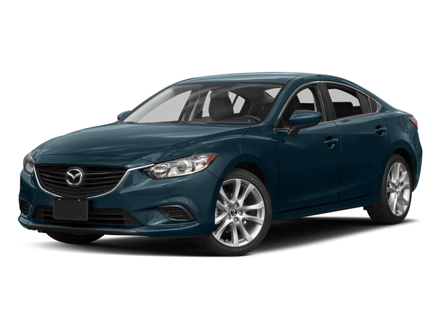 Deep Crystal Blue 2016 Mazda Mazda6 Pictures Mazda6 Sedan 4D i Touring I4 photos front view