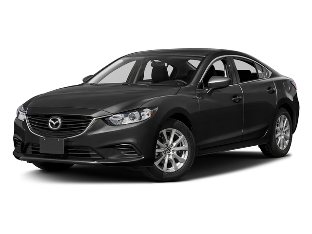 Jet Black Mica 2016 Mazda Mazda6 Pictures Mazda6 Sedan 4D i Sport I4 photos front view