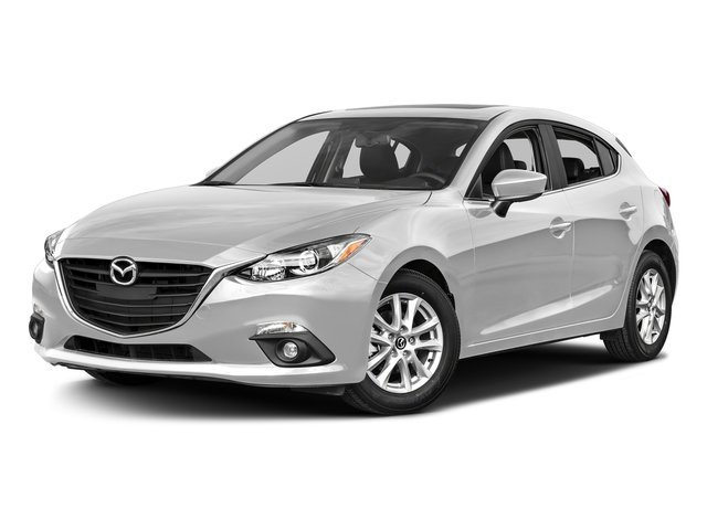 Snowflake White Pearl Mica 2016 Mazda Mazda3 Pictures Mazda3 Wagon 5D i GT I4 photos front view