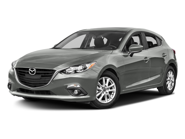 Liquid Silver Metallic 2016 Mazda Mazda3 Pictures Mazda3 Wagon 5D s GT I4 photos front view