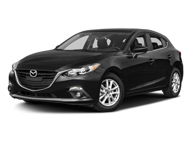 Jet Black Mica 2016 Mazda Mazda3 Pictures Mazda3 Wagon 5D i GT I4 photos front view