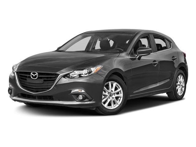 Meteor Gray Mica 2016 Mazda Mazda3 Pictures Mazda3 Wagon 5D i GT I4 photos front view