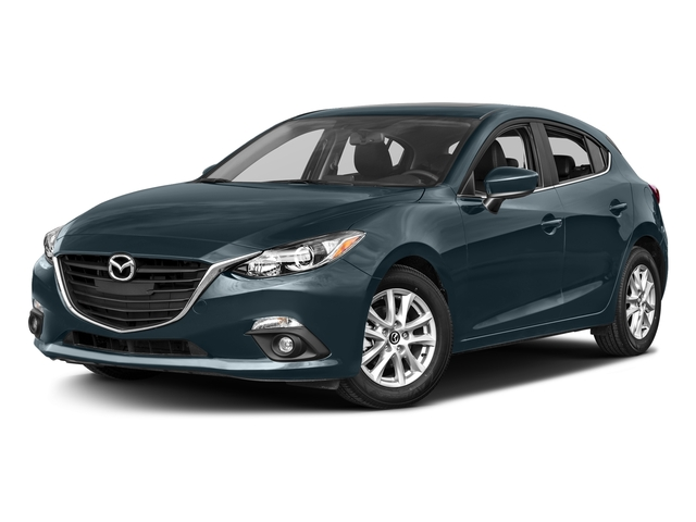 Blue Reflex Mica 2016 Mazda Mazda3 Pictures Mazda3 Wagon 5D i GT I4 photos front view
