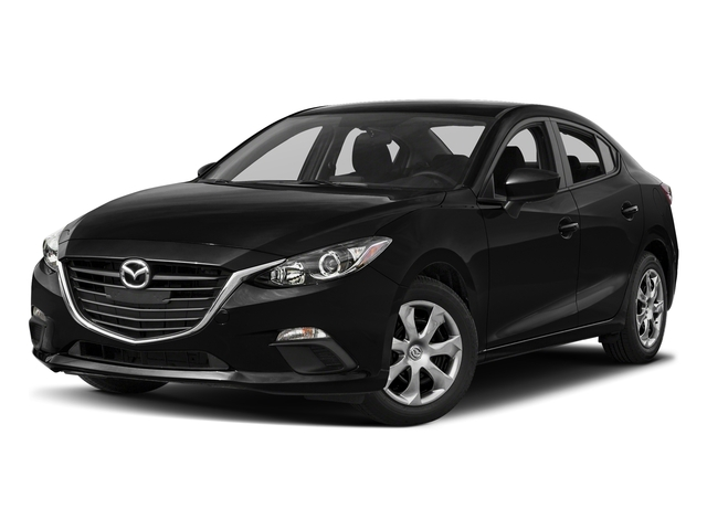 Jet Black Mica 2016 Mazda Mazda3 Pictures Mazda3 Sedan 4D i Sport I4 photos front view