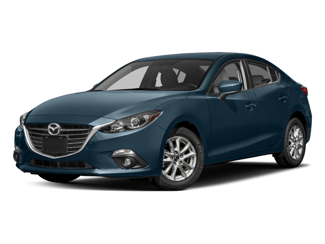 Deep Crystal Blue Mica 2016 Mazda Mazda3 Pictures Mazda3 Sedan 4D i Touring I4 photos front view