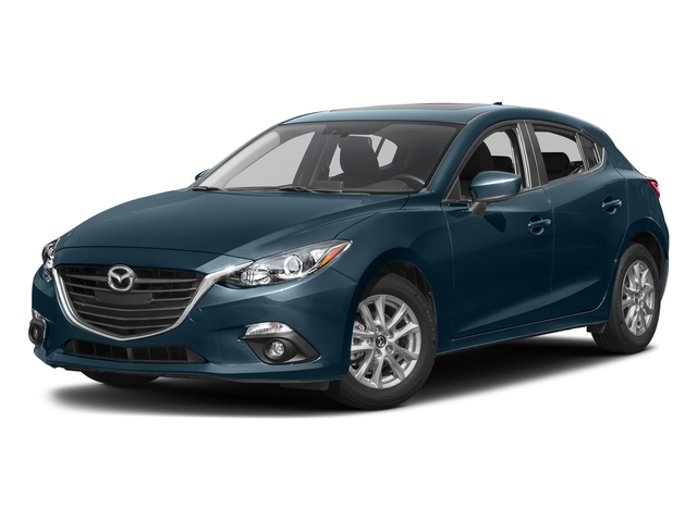 Deep Crystal Blue Mica 2016 Mazda Mazda3 Pictures Mazda3 Wagon 5D s Touring I4 photos front view