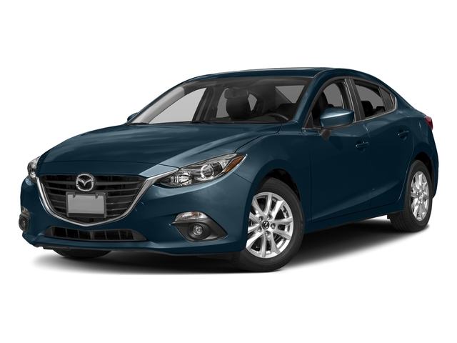 Deep Crystal Blue Mica 2016 Mazda Mazda3 Pictures Mazda3 Sedan 4D i GT I4 photos front view
