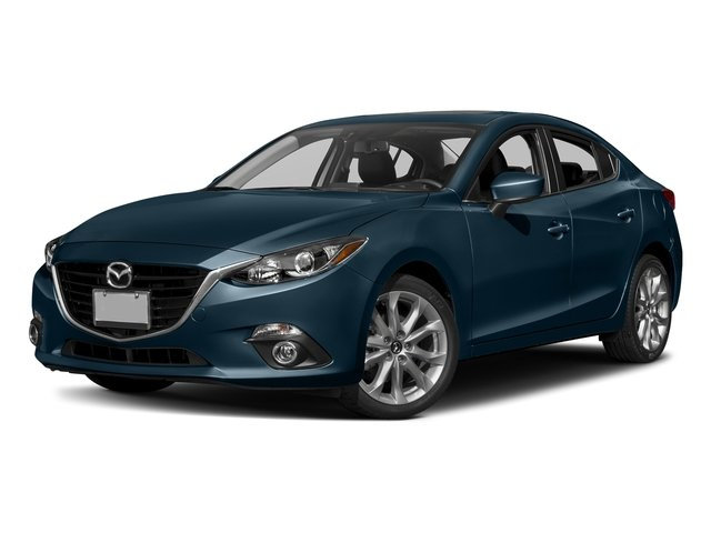 Deep Crystal Blue Mica 2016 Mazda Mazda3 Pictures Mazda3 Sedan 4D s Touring I4 photos front view