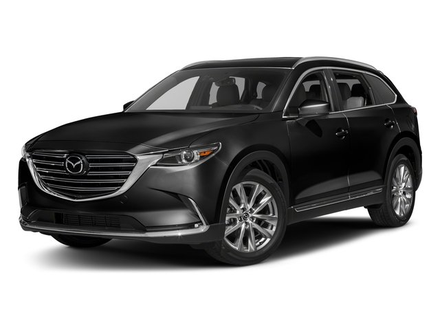 Jet Black Mica 2016 Mazda CX-9 Pictures CX-9 Utility 4D Signature AWD I4 photos front view