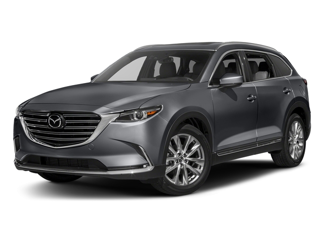 Machine Gray Metallic 2016 Mazda CX-9 Pictures CX-9 Utility 4D Signature AWD I4 photos front view